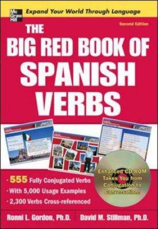 The Big Red Book of Spanish Verbs by Ronni L. Gordon & David M. Stillman