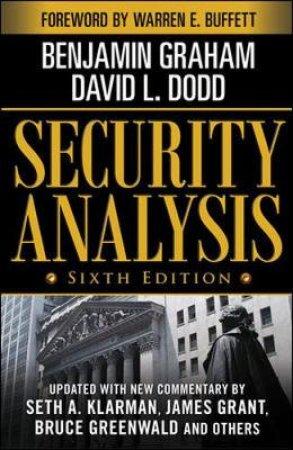 Security Analysis by Benjamin Graham & David Dodd