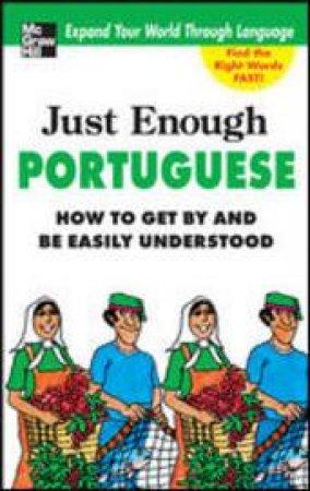 Just Enough Portuguese by D. L. Ellis