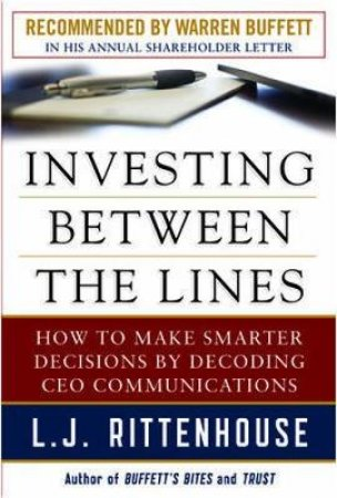 Investing Between the Lines by L. J. Rittenhouse