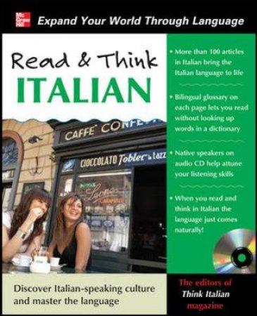 Read & Think Italian by Think Italian! Magazine