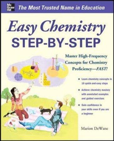 Easy Chemistry Step-By-Step by Marian Dewane