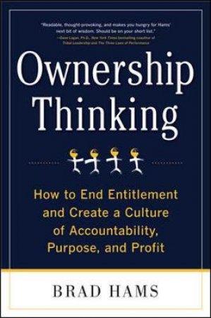Ownership Thinking by Brad Hams