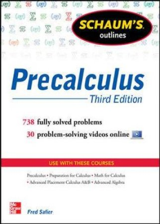 Schaum's Outline of Precalculus by Fred Safier