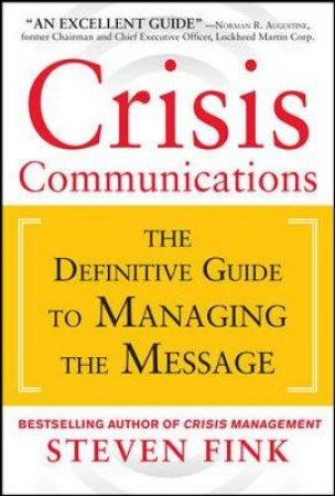 Crisis Communications by Steven Fink