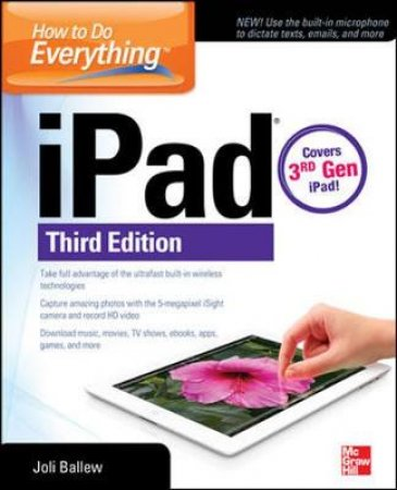 How to Do Everything iPad by Joli Ballew