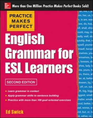 English Grammar for ESL Learners by Ed Swick
