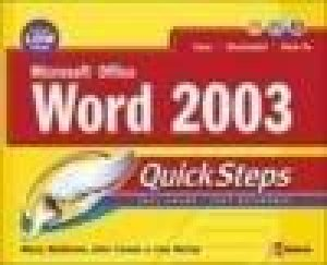 Microsoft Office Word 2003 by Martin S. Matthews & John Cronan & Lisa McCoy