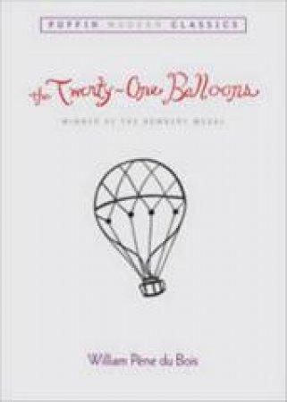 The Twenty-one Balloons by William Pene Du Bois