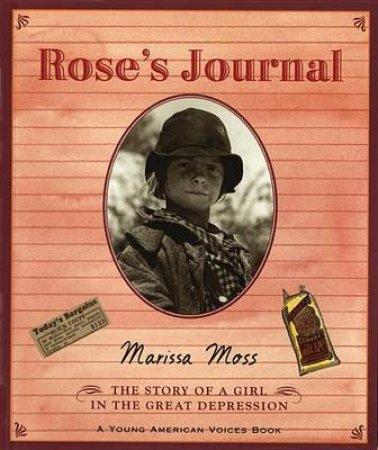 Rose's Journal by Marissa Moss