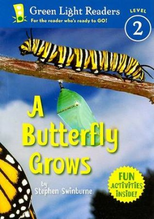A Butterfly Grows by Stephen Swinburne