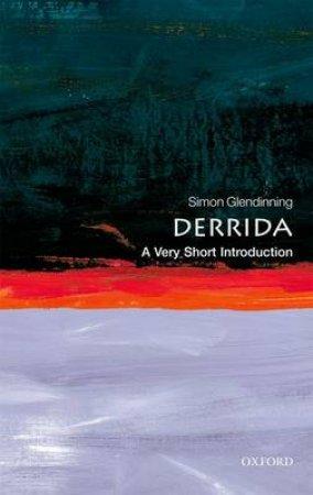 Derrida by Simon Glendinning