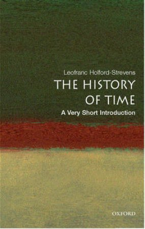 The History of Time by Leofranc Holford-Strevens