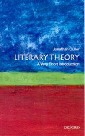 Literary Theory by Jonathan D. Culler
