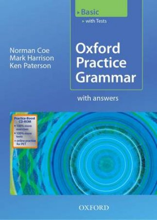 Oxford Practice Grammar Basic by Norman Coe & Mark Harrison & Ken Paterson