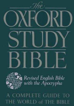 The Oxford Study Bible by M. Jack Suggs & Katharine Doob Sakenfeld & James R. Mueller