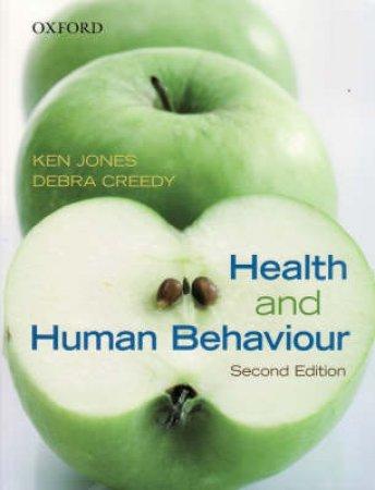 Health and Human Behaviour by Ken Jones & Debra Creedy