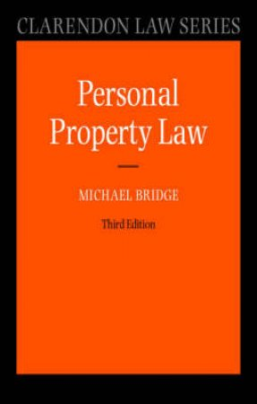 Personal Property Law by M. G. Bridge