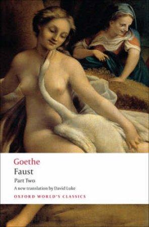 Faust by Johann Wolfgang Von Goethe & David Luke