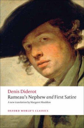 Rameau's Nephew and First Satire by Denis Diderot & Margaret Mauldon & Nicholas Cronk