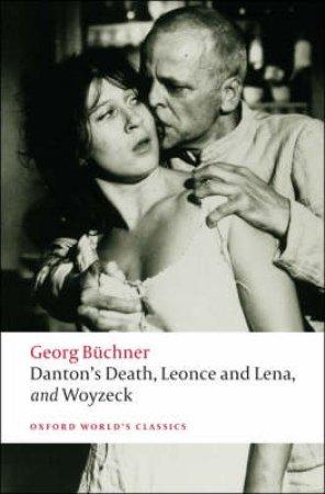 Danton's Death, Leonce and Lena, Woyzeck by Georg Buchner & Victor Price