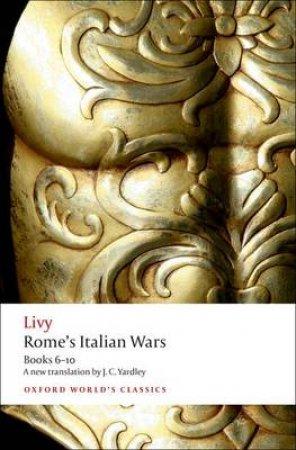Rome's Italian Wars by Livy & J. C. Yardley & Dexter Hoyos