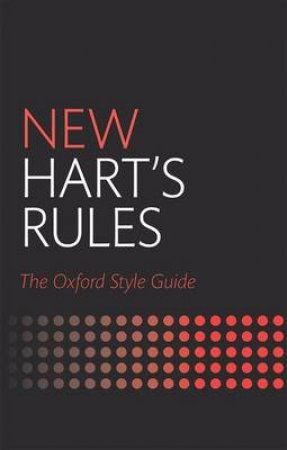 New Hart's Rules by Anne Waddingham