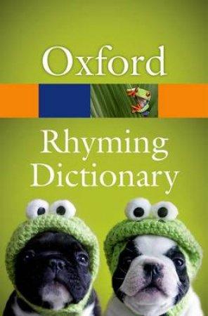 New Oxford Rhyming Dictionary by John Lennard