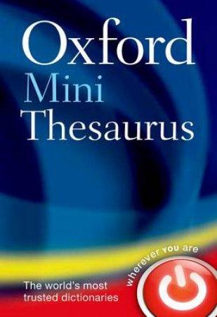 Oxford Mini Thesaurus by Sara Hawker & Lucy Hollingworth