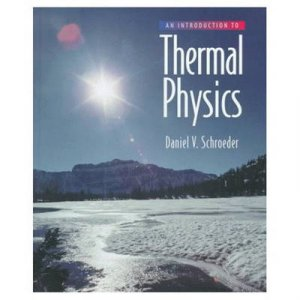 Introduction to Thermal Physics by Daniel V. Schroeder