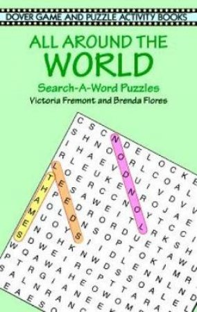 All Around the World Search-A-Word Puzzles