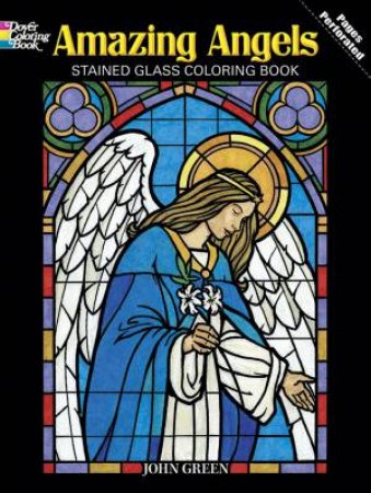 Amazing Angels Coloring Book