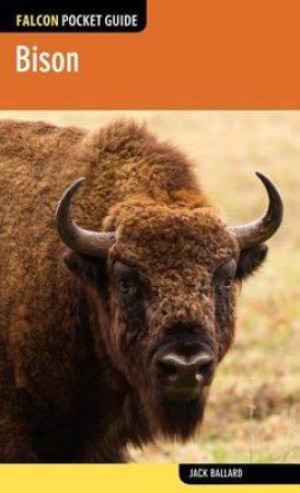 Falcon Pocket Guide Bison by Jack Ballard