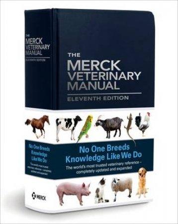 The Merck Veterinary Manual by Susan E. Aiello & Michael A. Moses
