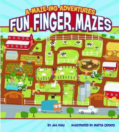A-maze-ing Adventures Fun Finger Mazes