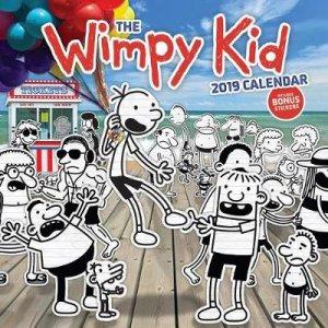The Wimpy Kid 2019 Calendar