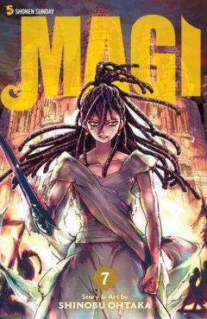 Magi The Labyrinth of Magic 7
