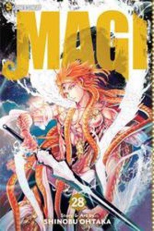 Magi the Labyrinth of Magic 28