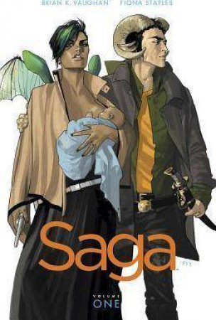 Saga 1 by Brian K. Vaughan & Fiona Staples